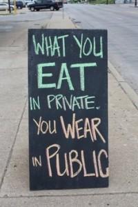 EatPrivateShowPublic