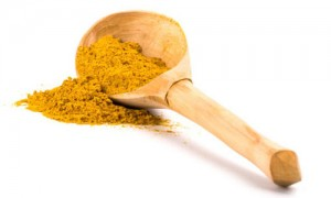 turmeric spoon